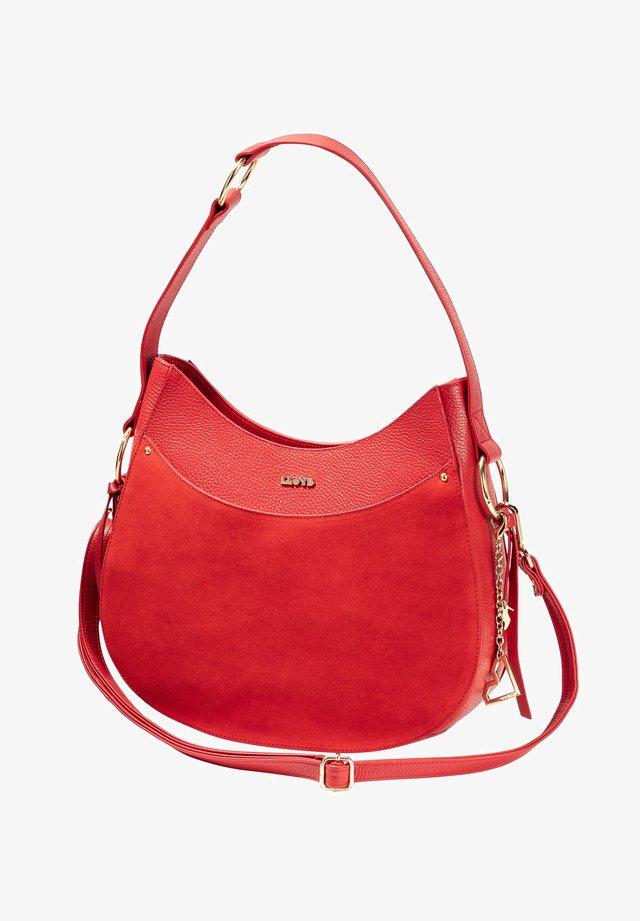 HOBO - Handbag - rot