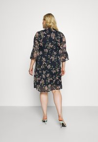 Vero Moda Curve - VMKAY DRESS - Sukienka letnia - navy blazer - 2
