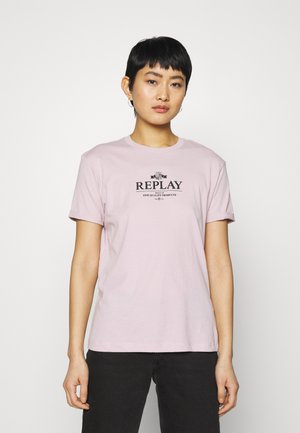 T-shirt print - quartz rose