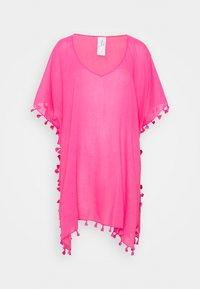 BEACH EDIT AMNESIA KAFTAN - Beach accessory - bright pink