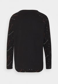 Jack & Jones - JCOSPLASH TEE - Long sleeved top - black - 1