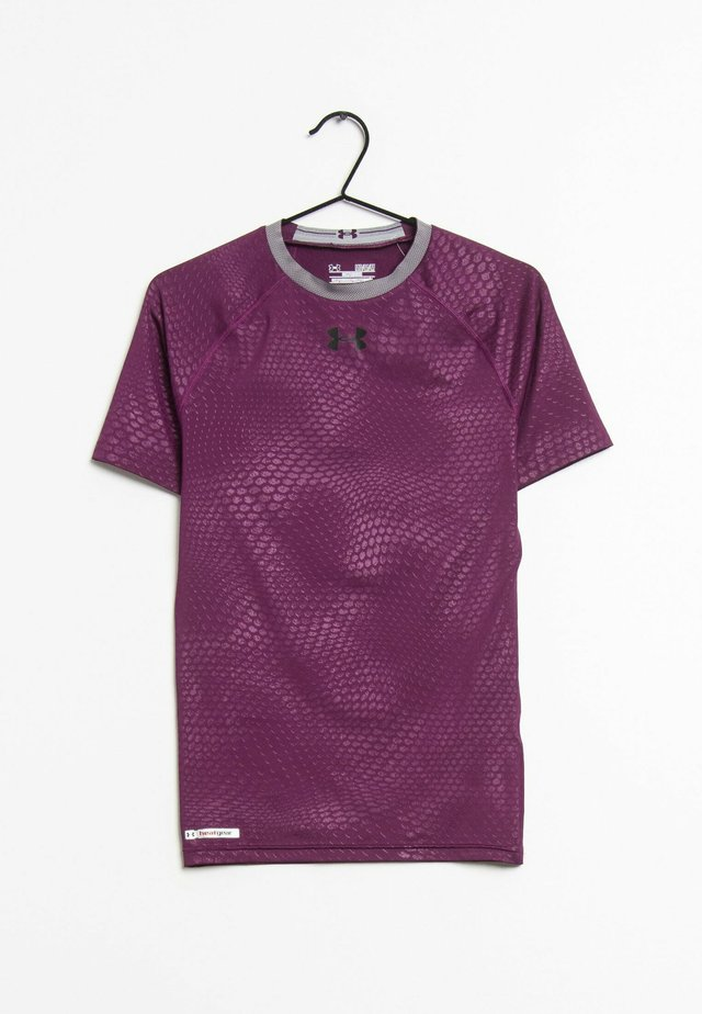 T-shirt print - purple