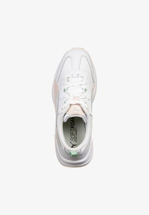 CILIA LUX - Trainers - white / rosewater / mist green / silver