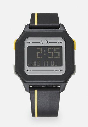 Digital watch - black