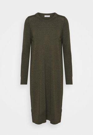 DRESS - Jumper dress - khaki