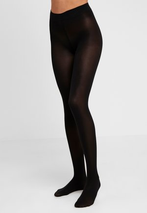 40 DEN TIGHTS OPAQUE - Collant - black