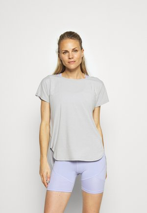 GFIT ROLL CUFF BOAT - Basic T-shirt - full moon