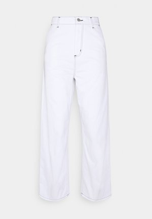 ARMANDA PANT - Džíny Relaxed Fit - white