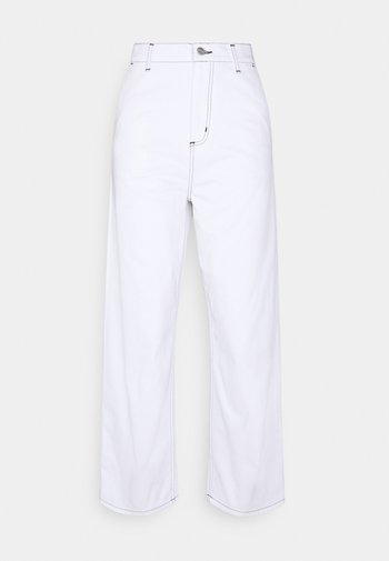 ARMANDA PANT - Relaxed fit jeans - white