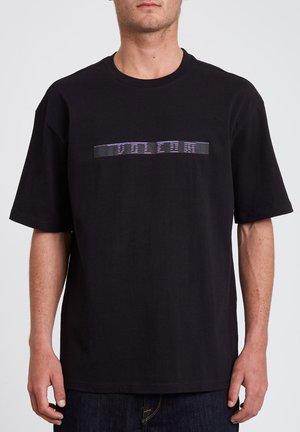 FLOWSCILLATOR - Print T-shirt - black