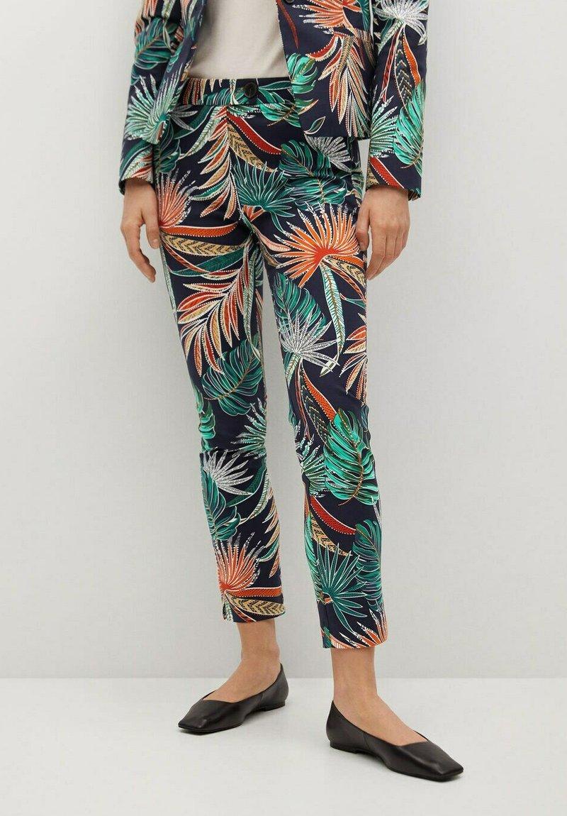 Mango - COFIP6-N - Trousers - donkermarine