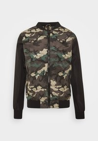 Brave Soul - BLAIR - Bomber Jacket - khaki/charcoal/black - 4