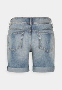 TOM TAILOR - ALEXA BERMUDA - Jeans Short / cowboy shorts - random bleached blue denim - 1