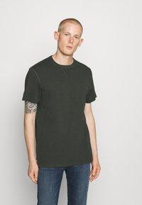 G-Star - PREMIUM CORE R T S\S - T-shirt basic - olive - 0