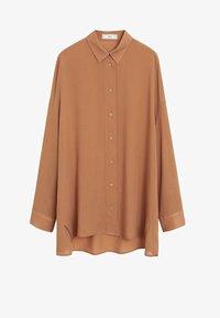 Mango - RORO - Button-down blouse - middenbruin - 3