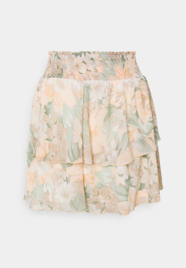ONLTAMMY SHORT SKIRT  - Minifalda - apricot