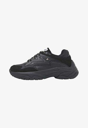 GALAXY - Sneakersy niskie - black black