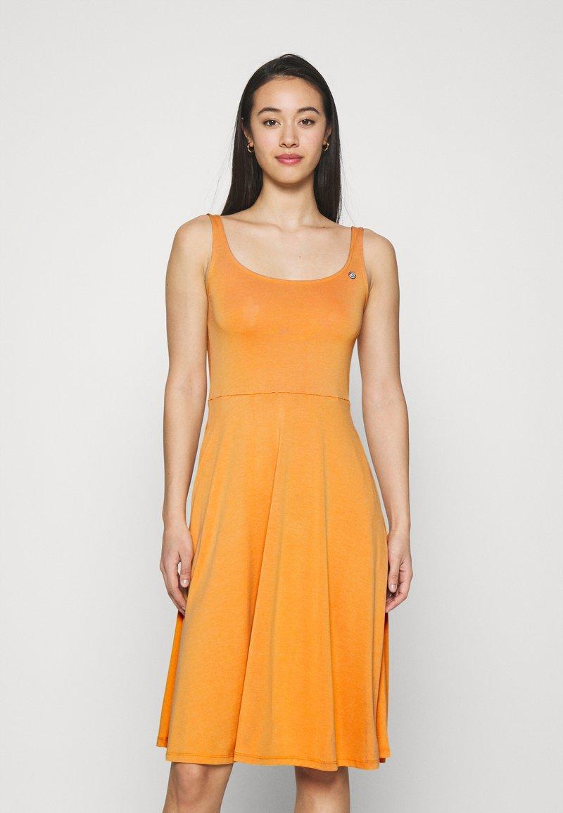 Ragwear - TRISHA - Jersey dress - yellow