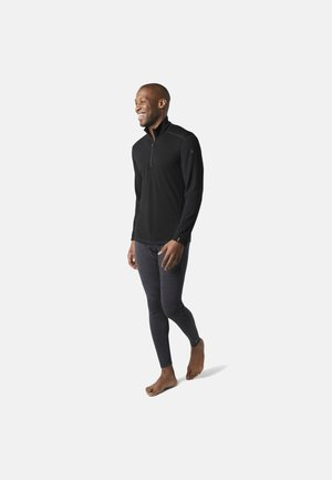 MIDWEIGHT 250 BASELAYER 1/4 ZIP - Maglietta a manica lunga - black