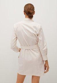Mango - MEXI - Shirt dress - beige - 2