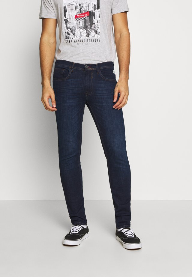 JET - Slim fit jeans - denim dark blue