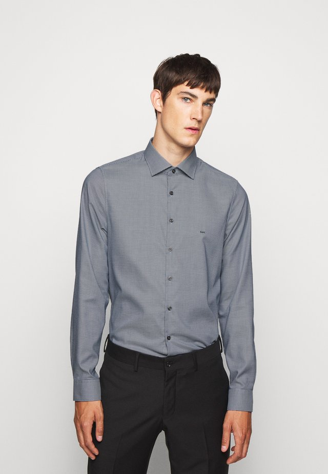 STRUCTURE EASY CARE SLIM - Shirt - royal blue