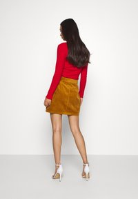 JDY - KIRA LIFE - Pencil skirt - golden brown - 2