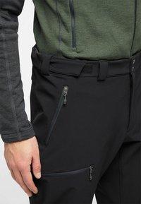 Haglöfs - BRECCIA PANT - Outdoor trousers - true black/magnetite short - 3