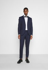 Selected Homme - SLHSLIM KYLELOGAN SET - Suit - navy blue/light blue - 1