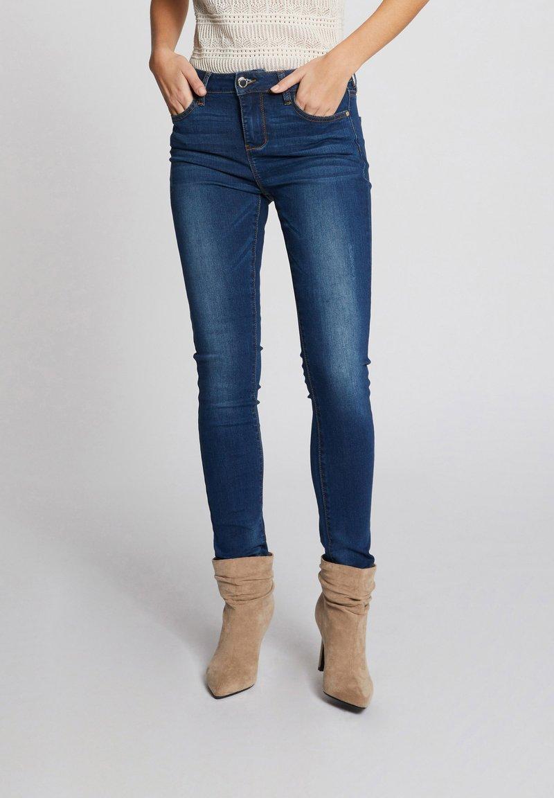 Morgan - Slim fit jeans - blue denim