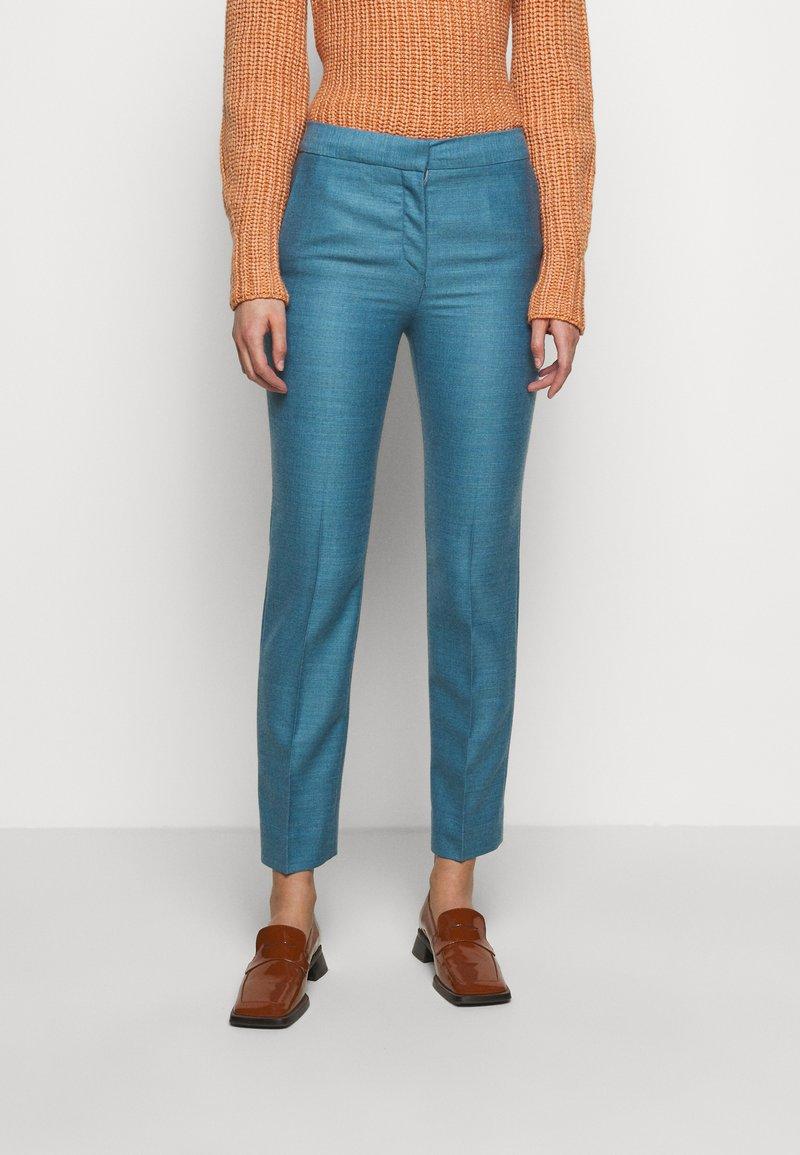 Victoria Victoria Beckham - CIGARETTE TROUSER - Kalhoty - storm blue