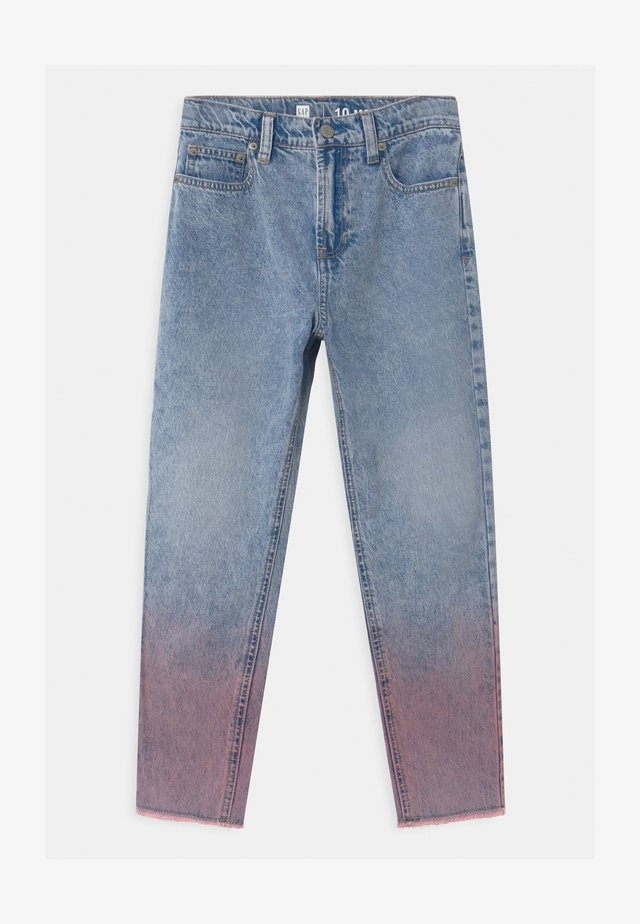 GIRLS MOM - Relaxed fit jeans - pink