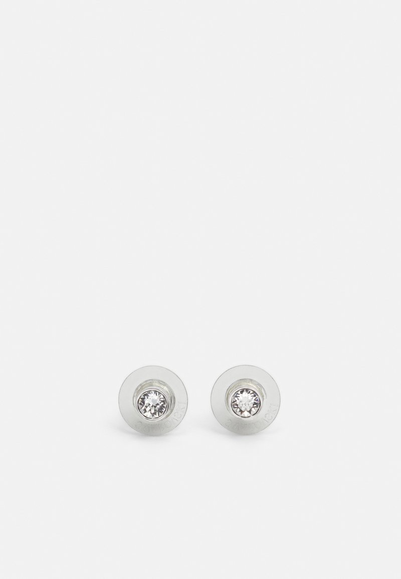 Swarovski - TENNIS STUD - Earrings - silver-coloured