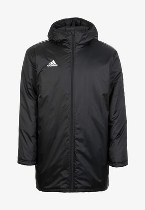 CORE 18 STADIUM JACKET - Waterproof jacket - black/white