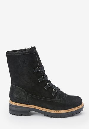 FOREVER COMFORT® - Lace-up ankle boots - black