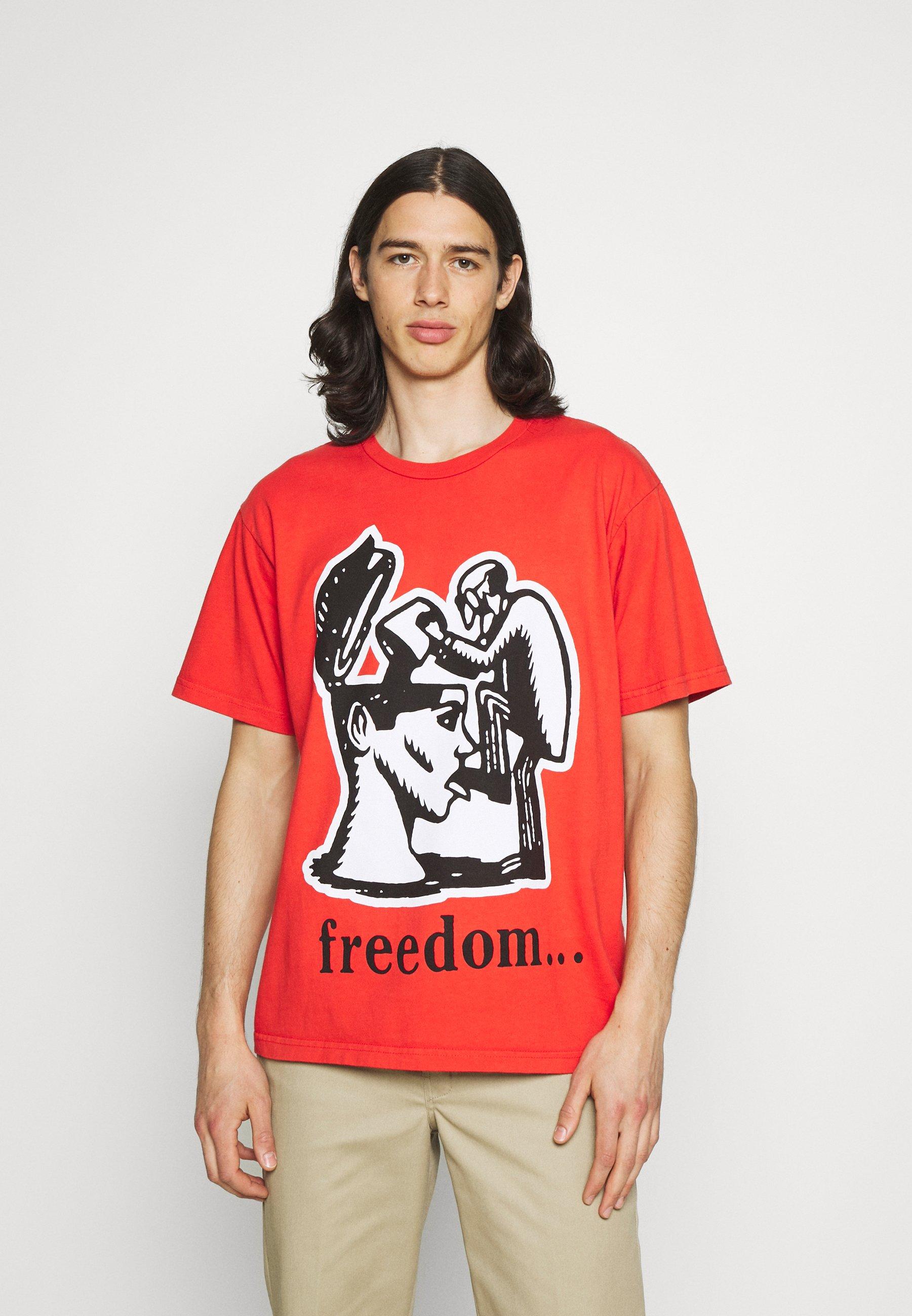 Men FREEDOM - Print T-shirt