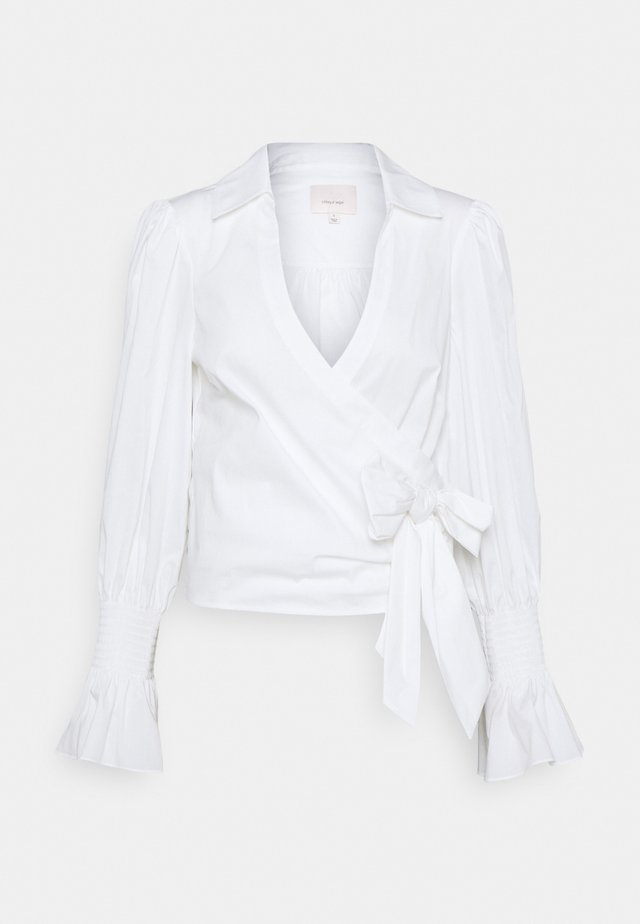 ALESSANDRA TOP - Bluser - white