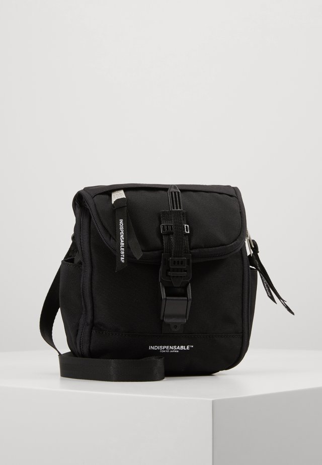 SHOULDERBAG BITE - Torba na ramię - black