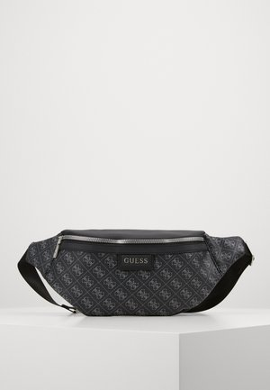 DAN LOGO BUM BAG - Sac banane - black