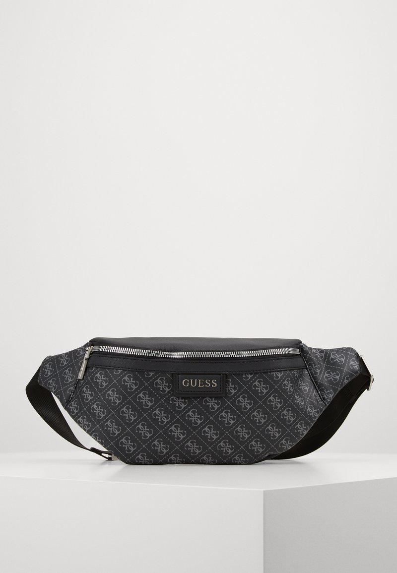 Guess - DAN LOGO BUM BAG - Vyölaukku - black