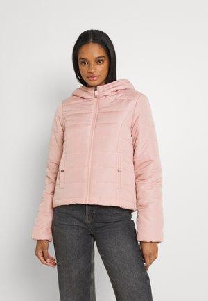 VMSIMONE HOODY SHORT JACKET - Light jacket - misty rose