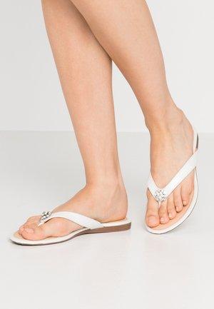 SALVATORE - Flip Flops - white
