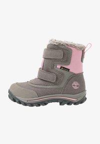 Timberland - CHILLBERG 2-STRAP GTX - Winter boots - medium grey - 1