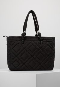 Tory Burch - FLEMING QUILTED TOTE - Tote bag - black - 2