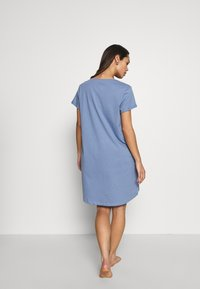Hunkemöller - NIGHTIE R NECK - Camicia da notte - country blue - 2