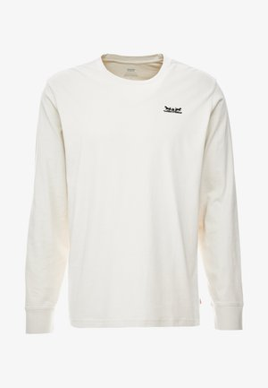 RELAXED GRAPHIC TEE - Long sleeved top - fog