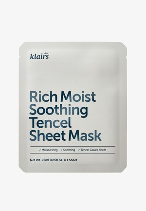 RICH MOIST SOOTHING MASK 23ML 2 MASKS PACK  - Face mask - -
