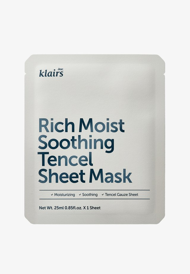 RICH MOIST SOOTHING MASK 23ML 2 MASKS PACK  - Masque visage - -