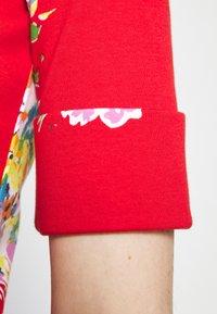 Lauren Ralph Lauren - JUDY ELBOW SLEEVE - Print T-shirt - bright hibiscus/multi - 3