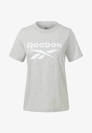 REEBOK IDENTITY REECYCLED GRAPHIC - T-shirt z nadrukiem - grey